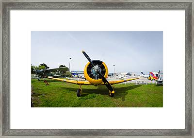 North American T-6 Texan Framed Print