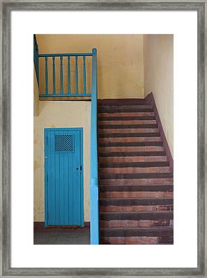 Cuba, Havana, Havana Vieja, Convento De Framed Print by Walter Bibikow