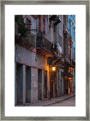 Cuba, Havana, Havana Vieja, Old Havana Framed Print