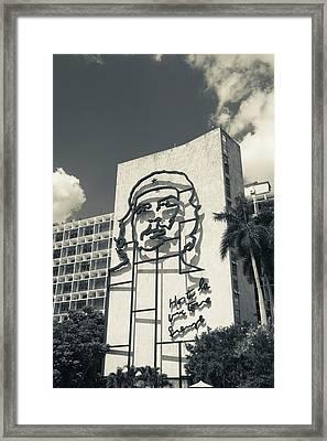 Cuba, Havana, Vedado, Plaza De La Framed Print
