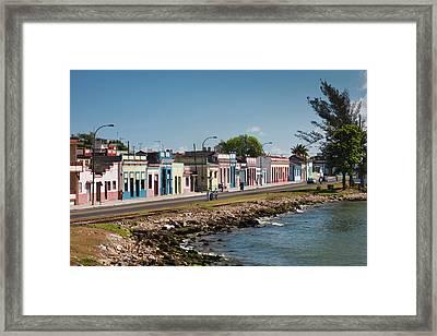 Cuba, Matanzas Province, Matanzas, Town Framed Print