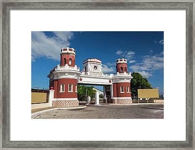 Cuba, Matanzas Province, Matanzas Framed Print
