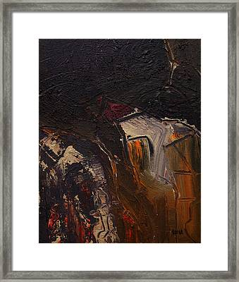 Cuenca Framed Print by Oscar Penalber