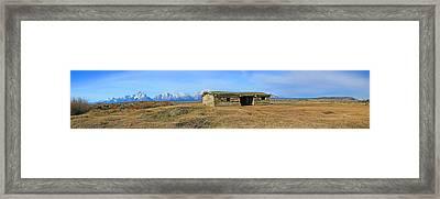 Cunningham Cabin Framed Print