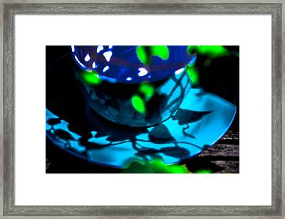 Art 0008 Cup Of Blue Framed Print