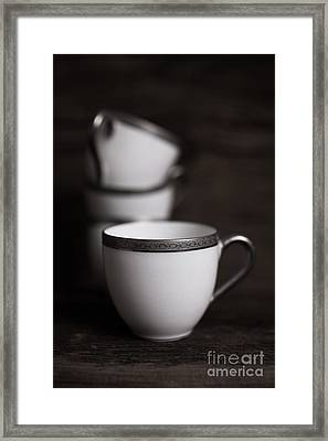 Cup Of Tea Framed Print by Edward Fielding