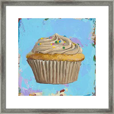 Cupcake #1 Framed Print by David Palmer
