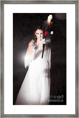 Cupid Igniting The Spark Of Love Framed Print by Jorgo Photography - Wall Art Gallery