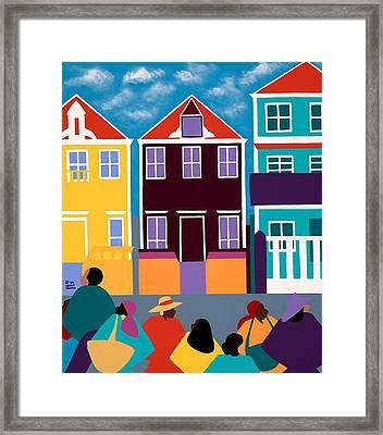 Curacao Dreams Framed Print