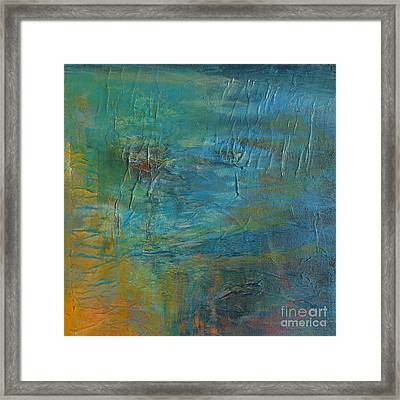 Current Framed Print by Melody Cleary