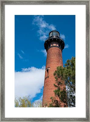 Framed Print featuring the photograph Currituck Beach Lighthouse by Gregg Southard