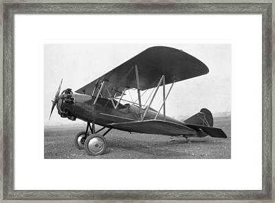 Curtiss Travelair J-6 Wright Engine Framed Print by Hank Clark