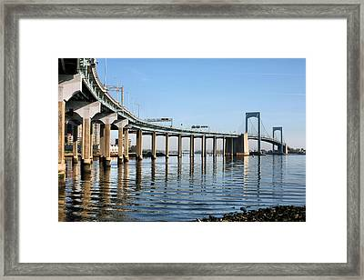 Curves Framed Print by JC Findley