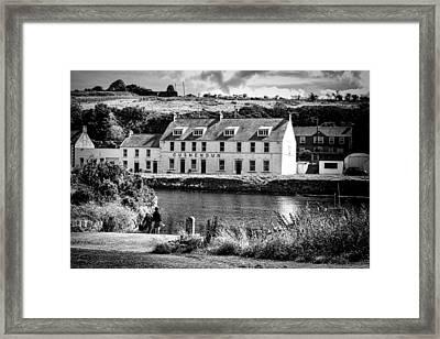 Cushendun Hotel Framed Print