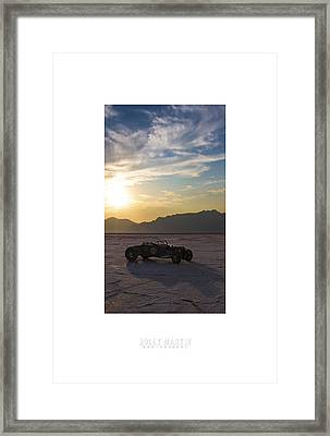 Custom Salt Framed Print by Holly Martin