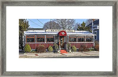 Cutchogue Diner Framed Print by Cathy Kovarik
