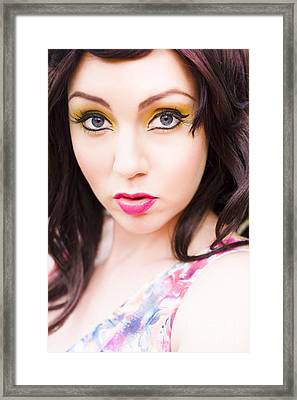 Cute Framed Print by Jorgo Photography - Wall Art Gallery