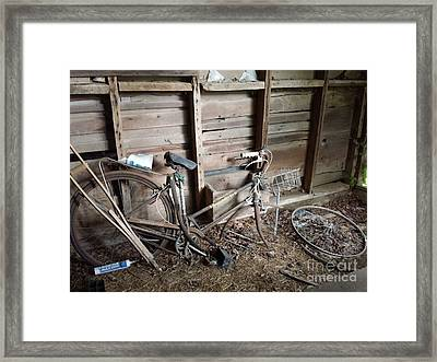 Cycles Of Time Framed Print