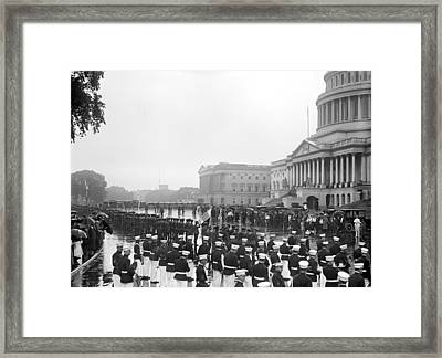 Czech Reception, 1919 Framed Print by Granger