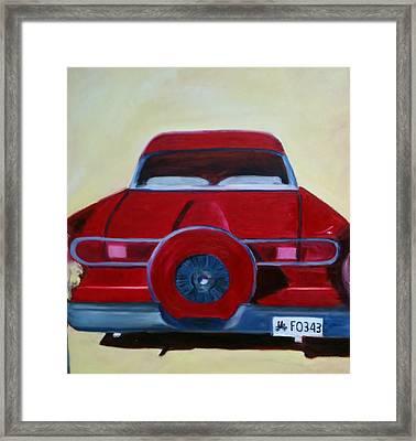 Dad's 58 Ford Framed Print