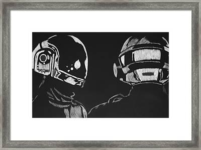 Daft Punk Framed Print