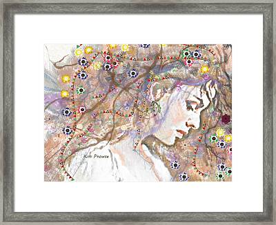 Daisy Chain Framed Print by Kim Prowse