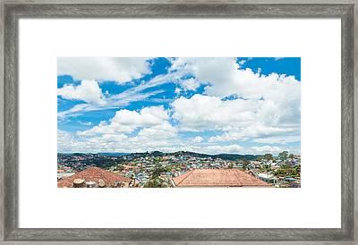 Dalat City View  Framed Print by Nikita Buida