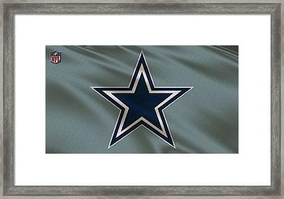 Dallas Cowboys Uniform Framed Print