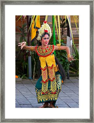 Dancer - Bali Framed Print
