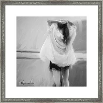 Dancer Framed Print by H James Hoff