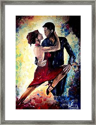 Dancing In The Moonlight Framed Print by Michael Grubb