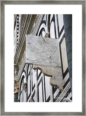 Dantis Astronomical Quadrant Framed Print