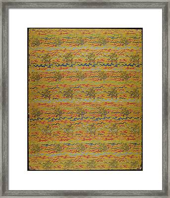Daoist Folding Album Framed Print