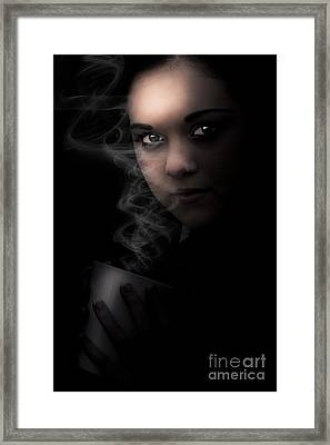 Dark Side Of Coffee Framed Print by Jorgo Photography - Wall Art Gallery