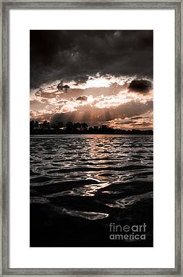 Dark Tranquility Framed Print by Jorgo Photography - Wall Art Gallery