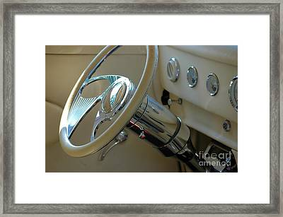 Framed Print featuring the photograph Dashboard Glam by Christiane Hellner-OBrien