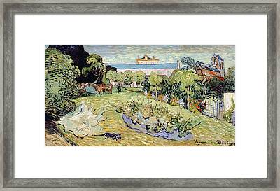 Daubigny's Garden Framed Print by Vincent van Gogh