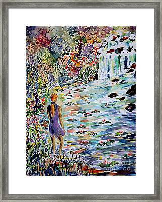 Daughter Of The River Framed Print