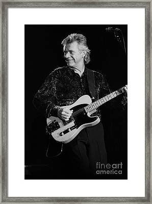 Dave Edmunds Framed Print by Concert Photos