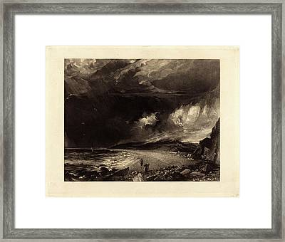 David Lucas After John Constable, British 1802-1881 Framed Print by Litz Collection