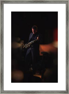 David Sanborn Framed Print by Dailey Pike