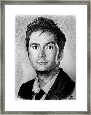 David Tennant Framed Print by Andrew Read