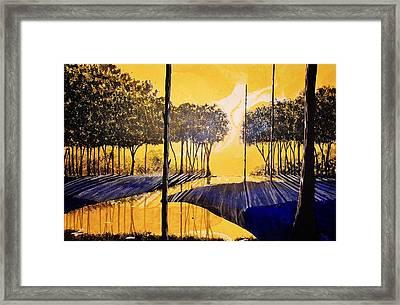Dawn II Framed Print by Kyle  Brock