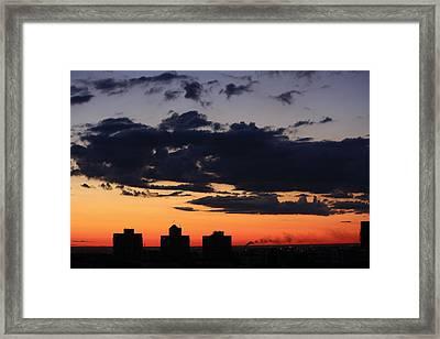 Dawn Framed Print by Jason KS Leung