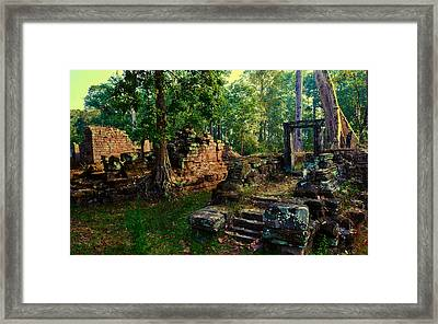 Dawn Framed Print by Julian Cook