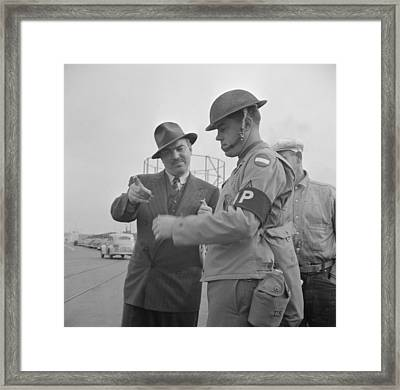 Day After Pearl Harbor Attack In San Framed Print