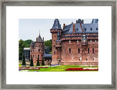 De Haar Castle. Utrecht. Netherlands Framed Print