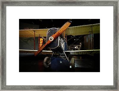 De Havilland Dh4 Biplane, Omaka Framed Print