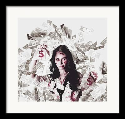 Cash Flow Framed Prints