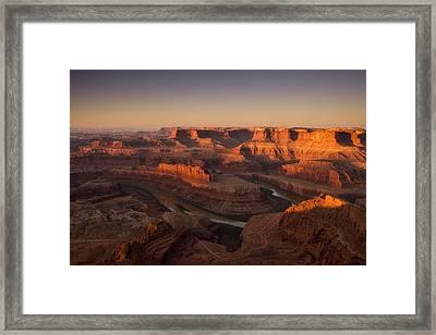 Dead Horse Point Morning Framed Print